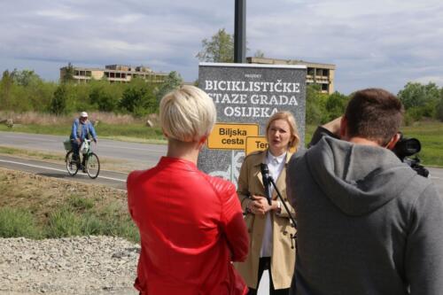 Projekt biciklističke staze Grada Osijeka - Biljska cesta i Tenjska cesta 1