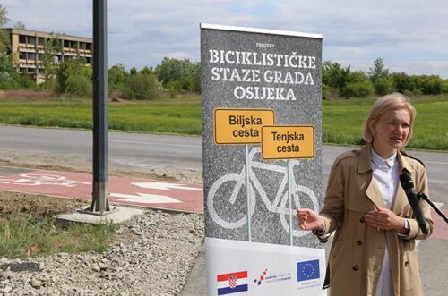 Projekt biciklističke staze Grada Osijeka - Biljska cesta i Tenjska cesta 2