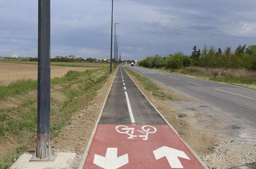 Projekt biciklističke staze Grada Osijeka - Biljska cesta i Tenjska cesta 3