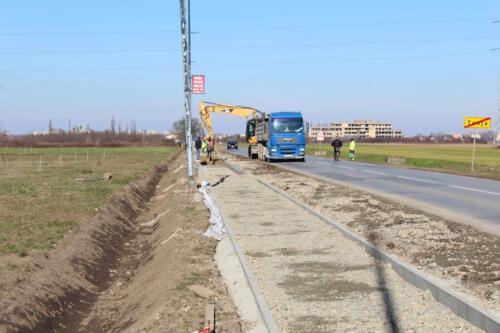 Radovi na rekonstrukciji biciklističkih staza prema Bilju i Tenji u punom su jeku 2